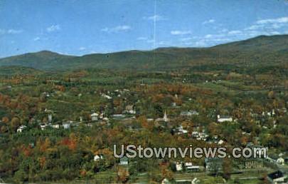 Brandon, VT     ;     Brandon, Vermont Postcard