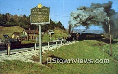 Steamtown USA, Steam Trains - Bellows Falls, Vermont VT Postcard