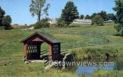 Covered Bridge - Wilmington, Vermont VT Postcard