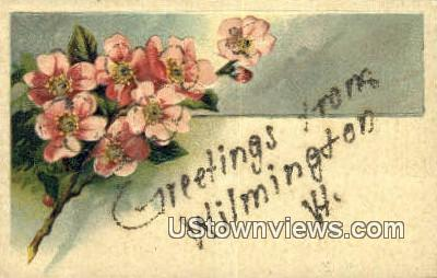 Greetings from Vermont - Wilmington Postcard