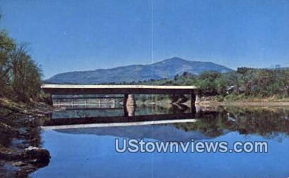 Cornish Windsor Covered Bridge - Vermont VT Postcard
