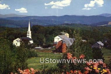 Vallage - Peacham, Vermont VT Postcard