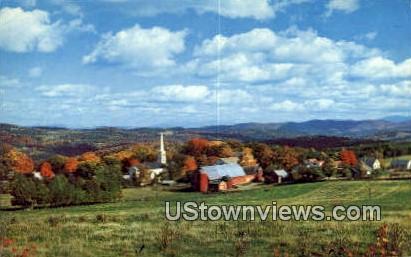 Peacham, VT     ;     Peacham, Vermont Postcard
