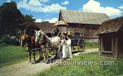 Yankee Peddler - Cabot, Vermont VT Postcard