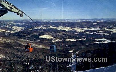 Gondola Lift - Warren, Vermont VT Postcard