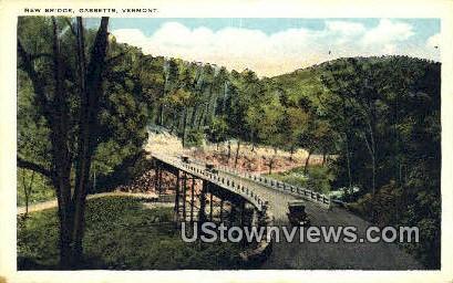 New Bridge - Gassetts, Vermont VT Postcard