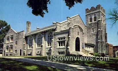 Grace Methodist Church - St Johnsbury, Vermont VT Postcard