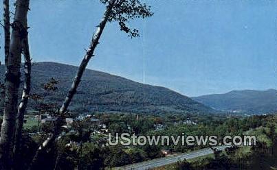Waterbury, Vermont      ;     Waterbury, VT Postcard