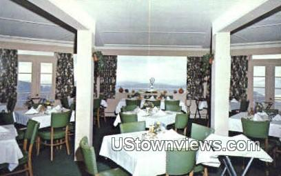 Summit Dining Room, Mt Equinox - Manchester, Vermont VT Postcard