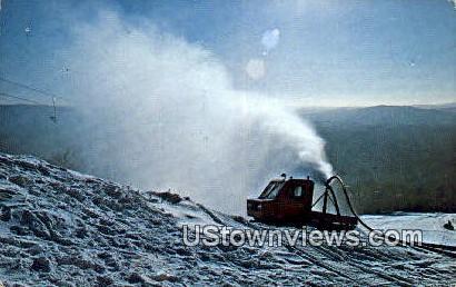 Big Bromley Mountain - Peru, Vermont VT Postcard