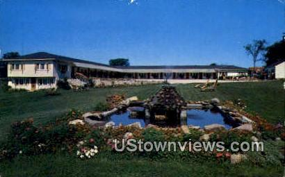 Grand View Motel Inc - Colchester, Vermont VT Postcard