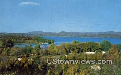 Mallett's Bay - Burlington, Vermont VT Postcard