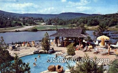 Snow Lake Lodge - Mount Snow, Vermont VT Postcard