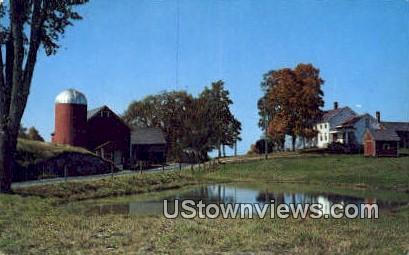 Rutland County - Hortonville, Vermont VT Postcard
