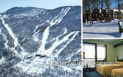 Bolton Alley - Green Mountains, Vermont VT Postcard