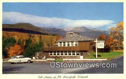 Toll House - Mount Mansfield, Vermont VT Postcard
