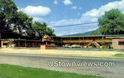 Sunset Motel - Rutland, Vermont VT Postcard