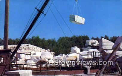 Marble Quarry - East Rutland, Vermont VT Postcard