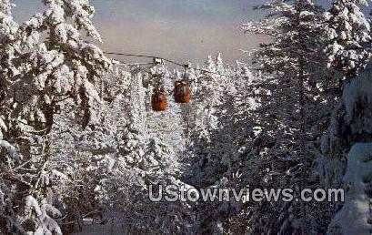Killington Ski Resort - Vermont VT Postcard