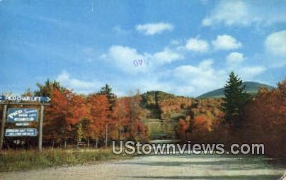 Pico Ski Area - Rutland, Vermont VT Postcard