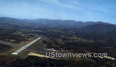 Rutland Municipal Airport - East Clarendon, Vermont VT Postcard