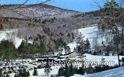 Middlebury College Snow Bowl - Vermont VT Postcard