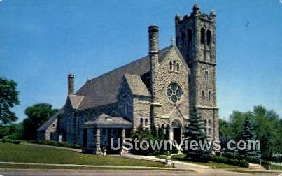 St Mary's Church - Middlebury, Vermont VT Postcard