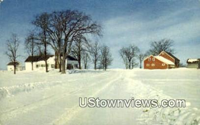 Vermont Farm - Middlebury Postcard