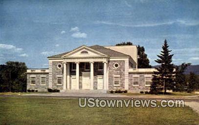 Middlebury College - Vermont VT Postcard