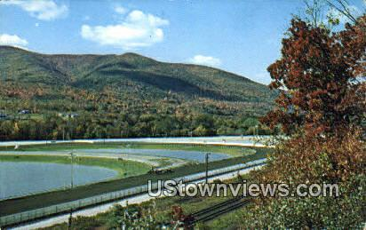 Green Mtn Park Racetrack - Pownal, Vermont VT Postcard