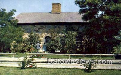 Vermont House, Shelburne Museum Postcard