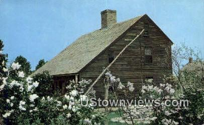 Saltbox Type Home - Shelburne, Vermont VT Postcard