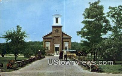 Meeting House, Shelburne Museum - Vermont VT Postcard