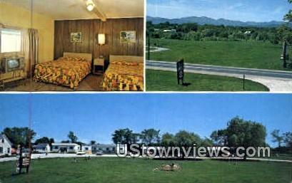 Skyview Motel - Vergennes, Vermont VT Postcard