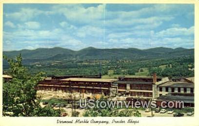Vermont Marble Co - Proctor Postcard