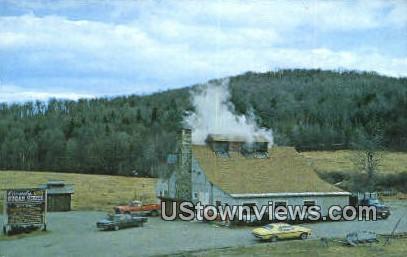 Comb's Beaver Brook Sugarhouse - Wilmington, Vermont VT Postcard