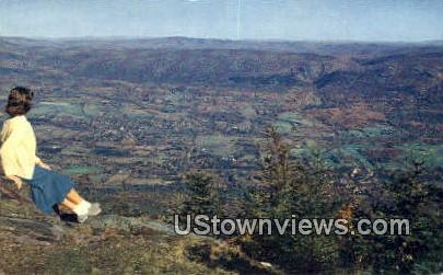 Mount Equinox, Vermont      ;     Mount Equinox, VT Postcard