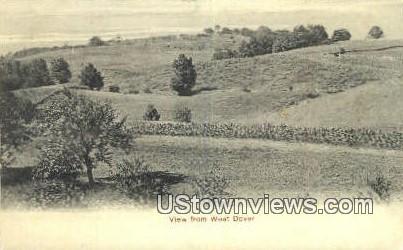 West Dover, Vermont      ;     West Dover, VT Postcard