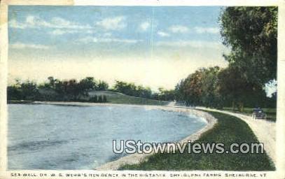 Shelburne Farms, Dr WS Webb's Residence - Vermont VT Postcard