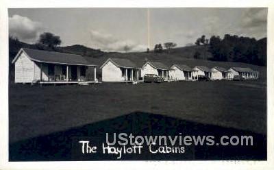 Hayloft Cabins - Woodstock, Vermont VT Postcard