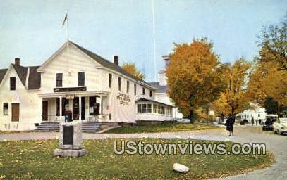 Birthplace of Calvin Coolidge - Plymouth, Vermont VT Postcard