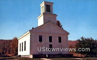 The Church - Plymouth, Vermont VT Postcard