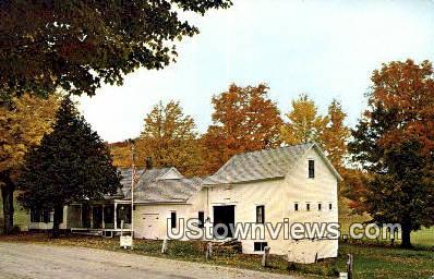 President's Homestead - Plymouth, Vermont VT Postcard