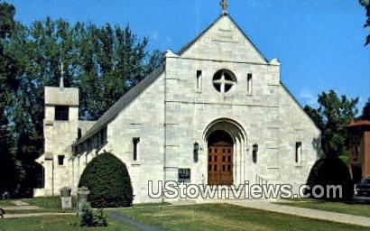 St Mary's Roman Catholic Church - Springfield, Vermont VT Postcard