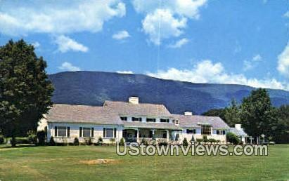 Ekwanok Country Club - Manchester, Vermont VT Postcard