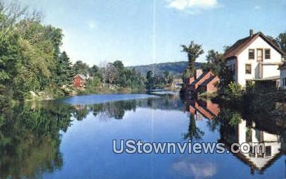 Old Mill Pond - Londonderry, Vermont VT Postcard