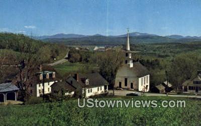 Lower Waterford Village, Vermont      ;     Lower Waterford Village, VT Postcard