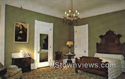 Victorian Bedroom, Wilson Castle - Rutland, Vermont VT Postcard