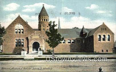 Vermont Museum of Natural Science - St Johnsbury Postcard