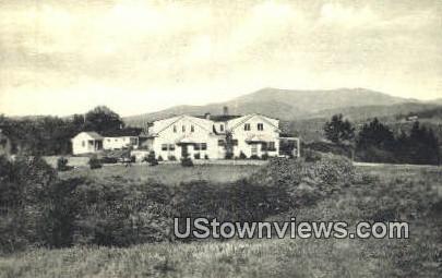 Twist O Hill Lodge - Williston, Vermont VT Postcard